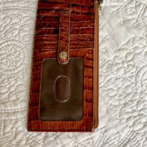 Brahmin Card Wallet